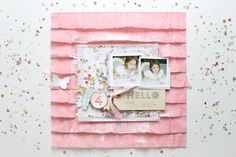 Confetti Pockets:: A scrapbook tutorial by Stephanie Bryan @ shimelle.com