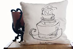 Hey, I found this really awesome Etsy listing at http://www.etsy.com/listing/152066551/alice-in-wonderland-pillow-cover-16-x16