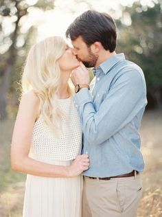 Christine and Adam / Austin Engagement Session / Michelle Boyd Photography / Fine Art Film Weddings