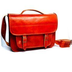 Laptop or Business original leather bag – Shoulder « Clothing Impulse