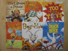 David Shannon Lot 6 PB HC Books G/VG Bugs in My Hair No, David! Good Boy, Fergus