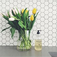 """Kitchen envy! @bondiwash styled perfectly by @sunday_collector. Want those tiles! #bondiwash #naturalsupplyco #madeinaustralia #bondi #sydney #styling #interiors #kitchen #switchtonatural"" Photo taken by @thenaturalsupplyco on Instagram, pinned via the InstaPin iOS App! http://www.instapinapp.com (05/07/2015)"