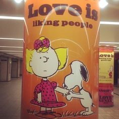love is liking people