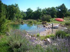 Piscine naturelle en Dordogne
