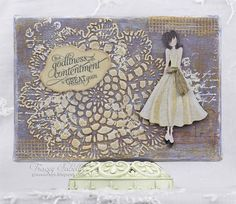 Leaky Shed Studio: Mixed Media Canvas with Julie Nutting Classy Doll
