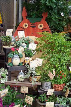 Studio Ghibli Shop/Plant Nursery/Florist. Kamakura, Japan