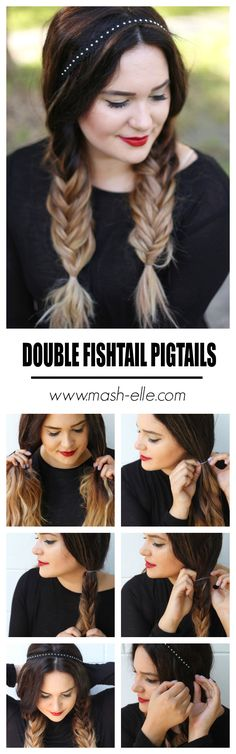 Click here to see how EASY it is to accomplish fishtail brands with a simple tutorial! Plus, love chokers this fall? I'm showcasing two new wears to wear them with the @Scunci multi-way choker! #ugotthis #ad