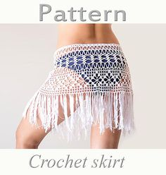 Hey, I found this really awesome Etsy listing at https://www.etsy.com/listing/192088355/pattern-crochet-beach-fringed-skirt-lacy