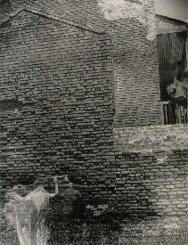 Clarence John Laughlin  Vision in a Brick Wall, Number One  1941