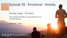 - Emotional - Anxiety - With Music - by Ease Meditation Meditation Videos, Guided Meditation, Deep Relaxation, Trying To Sleep, Feeling Overwhelmed, Eating Well, How To Fall Asleep, Body Care, Are You Happy