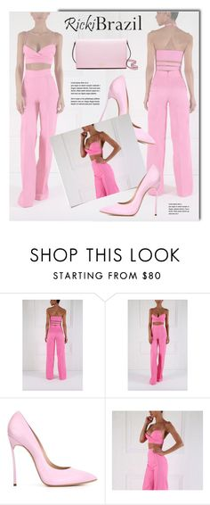 """""""RickiBrazil.com"""" by monmondefou ❤ liked on Polyvore featuring Casadei, Kate Spade and rickibrazil"""