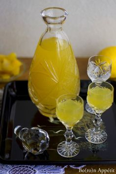 Cytrynówka Poland Food, Homemade Liquor, Christmas Food Gifts, Polish Recipes, Irish Cream, Mason Jar Wine Glass, Non Alcoholic Drinks, Healthy Drinks, Food To Make