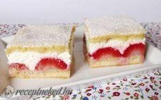 Epres-túrós sütemény recept fotóval