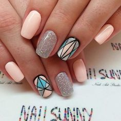 Image de nails, glitter, and nail art
