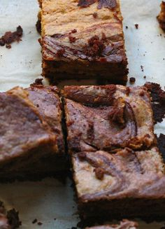 Pumpkin Swirl Brownies to get in the mood for fall!