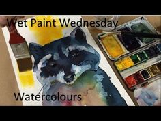 Wet Paint Wednesday Watercolours - YouTube