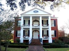(I was born in Natchez. Old Southern Homes, Southern Plantation Homes, Plantation Style Homes, Southern Mansions, Southern Plantations, Southern Style, Southern Charm, Plantation Houses, Southern Architecture