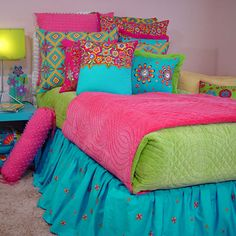Bright Bouquet Bedding : Bedding For Girls at PoshTots