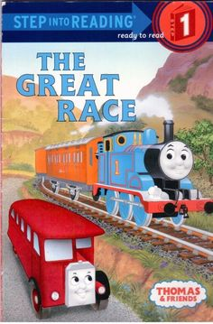 Thomas & Friends - The Great Race - Step Into Reading - Step 1 - Early Reader