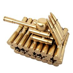 Bullet Shell Casing Shaped Army Tank Military Gift Made From Gun Casings Shells for sale online Bullet Casing Crafts, Bullet Crafts, Ammo Art, Gun Art, Ammo Jewelry, Bullet Jewelry, Army Gifts, Military Gifts, Ammo Crafts