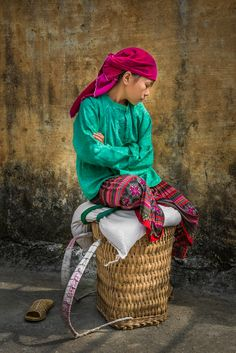 Portrait in Hanoi - Vietnam