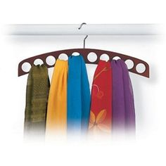 Richards Homewares Closet Accessories 10-Hole Scarf Hanger