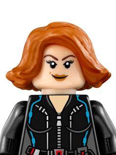 Viuda Negra - Personajes - LEGO.com