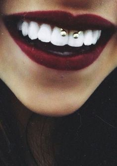 i wish i had enough webbing for a smiley piercing.