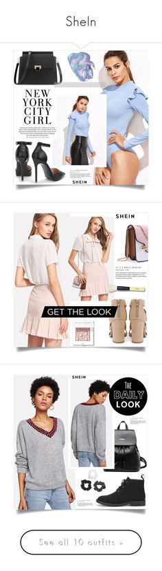 """""""SheIn"""" by amra-mak ❤ liked on Polyvore featuring shein, Bobbi Brown Cosmetics, Urban Outfitters, Disney and Concrete Minerals"""