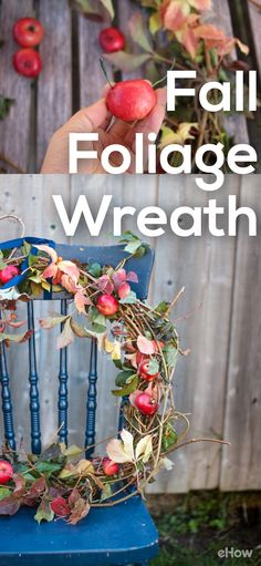 This BEAUTIFUL fall foliage wreath is so easy to make yourself with things you will find every where all fall season long. You can also customize it with your favorite fall items and make it completely your own. Get the full how-to here: http://www.ehow.com/how_12342991_create-seasonal-centerpiece-wreath-beautiful-fall-foliage.html?utm_source=pinterest.com&utm_medium=referral&utm_content=freestyle&utm_campaign=fanpage