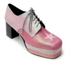 "shewhoworshipscarlin: ""Platform shoes, 1970s. """
