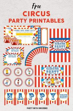 Today we are back with a set of Circus Party Printables. This set is perfect for any little storm troopers celebrating a birthday. If you are planning a circus party, be sure to check out our recent circus tent favor box. The circus tent box is the perfect addition to a birthday under the big […] Read more... Circus Party Favors, Circus Party Invitations, Circus Party Supplies, Circus Party Decorations, Paper Fan Decorations, Circus Carnival Party, Carnival Birthday Parties, Shower Invitations, Circus Cupcakes