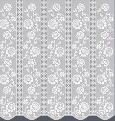 Filet Crochet Charts, Fillet Crochet, Crochet Curtains, Home Curtains, Chinese Style, Doilies, Crochet Patterns, Knitted Cushions, Crochet Ornaments