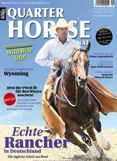 Echte #Rancher in Deutschland: Die tägliche Arbeit am #Rind Jetzt in #QuarterHorse Journal:  #horse #Cowboy #riding