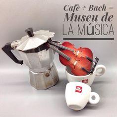 Museu de la Música de Barcelona, cafè, Bach, coffee, violoncel, cello, viola de gamba, Barcelona, museums, museus, activitats, activities