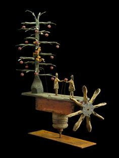 Turn the Hands of Temptation whirligig by Steve Hazlett.