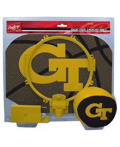 Jarden Sports Georgia Tech Yellow Jackets Slam Dunk Hoop Set