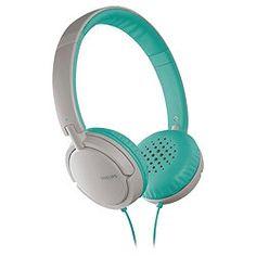 Philips SHL5002/10 Lightweight On-ear headphones - Green/White