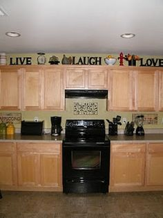 Remodel Ideas Decor Kitchen Signs Live Laugh Love