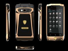 LAMBORGHINI LUXURY PHONE WITH ANDROID 4.2-7 #$4000  http://luxuryvolt.com/2013/11/lamborghini-luxury-phone-with-android-4-2/