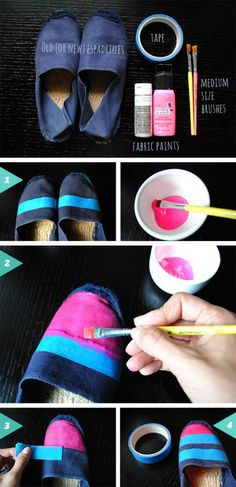 18 Remarkable DIY Espadrilles For This Summer | Pinkous