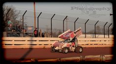 Danny Dietrich Coming down the back stretch in warm ups at Williams Grove Speedway