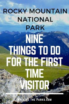 Looking for Things To Do in Rocky Mountain National Park? Here's a great list of awesome adventures to add to your Rocky Mountain National Park Itinerary! Check out our bucket list. Colorado National Parks, Road Trip To Colorado, National Park Tours, National Parks Map, Capitol Reef National Park, Colorado Hiking, Rocky Mountain National Park, Best Hikes, Camping And Hiking