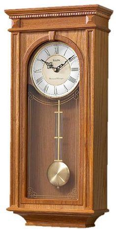 Décor Antique, Antique Clocks, Chic Antique, Chiming Wall Clocks, Plywood Furniture, Clock Painting, Unusual Clocks, Pendulum Wall Clock, Wall Clock Design