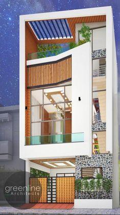 Classic House Exterior, Modern Exterior House Designs, Modern House Design, Best Home Design Software, Home Design Plans, Home Interior Design, Bungalow House Design, Small House Design, House Elevation