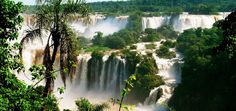Magnificent water energy in its most beautiful edition… South America is the proud owner of one of the most beautiful and largest waterfalls in the world.
