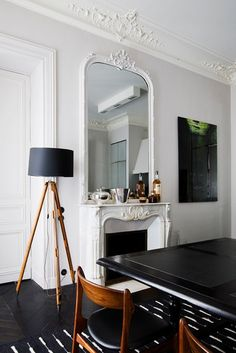 A 19th C. Paris Apartment Gets a Contemporary New Look