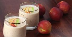 Easy Nectarine Smoothie Ingredients: Nectarines (As many as you would like!) Optional: Bananas Optional: Dates Healthy Smoothies, Healthy Drinks, Smoothie Recipes, Healthy Snacks, Detox Drinks, Tofu Smoothie, Cooking App, Cooking For One, Smoothie Nectarine
