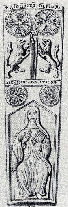Denise d'Echauffour, 1161, Trinité Abbey, Caen, Basse-Normandie, France