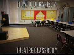 Welcome back- How I organized my theatre classroom Art Classroom Decor, Classroom Setup, Classroom Design, Classroom Organization, Classroom Management, Future Classroom, School Classroom, Drama Teacher, Drama Class